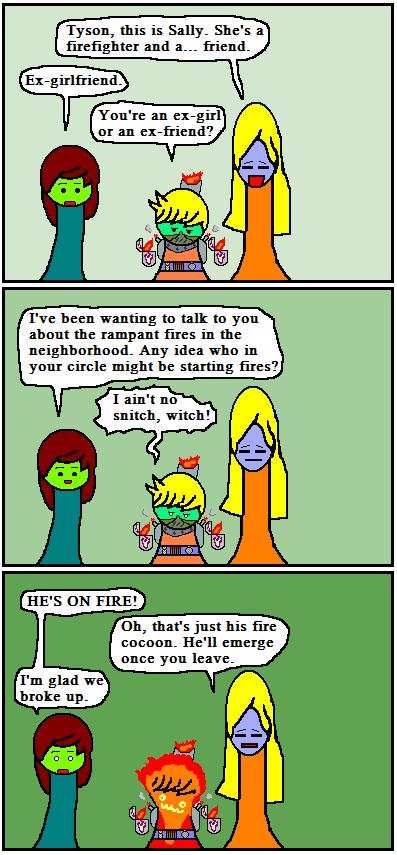 Burning Snitch